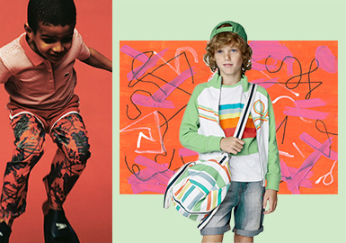 2018 S/S Color for Kidswear -- Youth Tonic