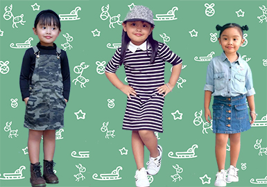Fashion Is Beyond Age, 5 Year-old Girl Shows Her Cool Style