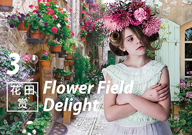 2018 S/S Design Development for Girls' Clothing -- Flower Field