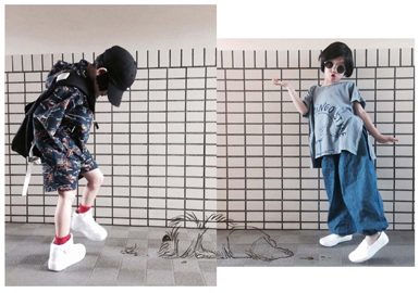 Styling of the Little Japanese Boy