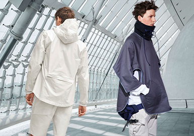2019 S/S Silhouette for Menswear -- Outdoor Jacket