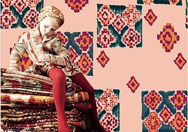 18/19 A/W Pattern & Craft for Girls' Wear -- Race Chaser: Carpet Rhythm