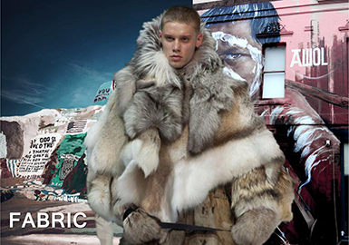 18/19 A/W Material for Men's Outerwear -- Fur