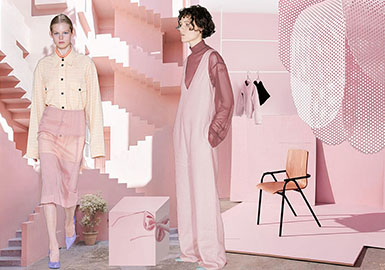 2019 S/S Color for Womenswear -- Gray Pink