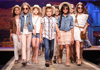 2018 S/S Kids' Catwalk -- Trend Analysis