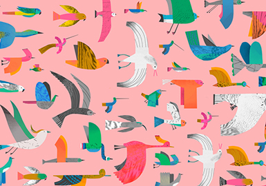 2019 S/S Pattern for Girls' Wear -- Warbling of the Oriole