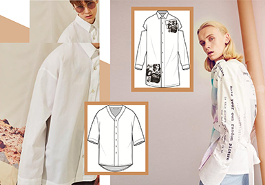 2019 S/S Men's Styling -- Shirt (Street Brand)