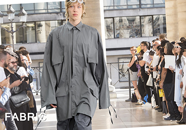 2018 S/S Shirting on Men's Catwalk (1) -- Age of Statement