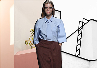 2019 S/S Silhouette for Womenswear --Shirt