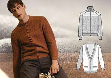 18/19 A/W Men's Sweaters -- Cashmere