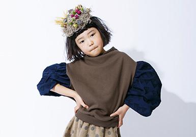 2019 S/S Girls' Sweaters -- Sweet Style