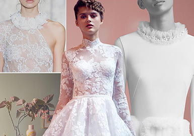 2019 S/S Wedding Dress -- Collar