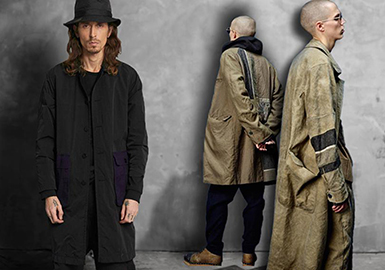 2019 S/S Silhouette for Men's Outerwear -- Reconstructed Life