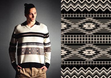 18/19 A/W Men's Knitwear Ordering Fair -- Patterns