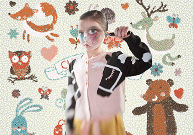 18/19 A/W Pattern for Kids' Knitwear -- Animals