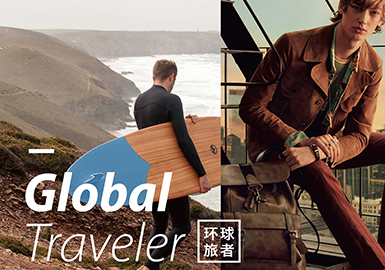 2019 S/S Color for Menswear -- Global Traveler