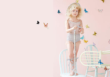 2019 S/S Pattern Trend for Girls' Clothing -- Dancing Butterflies
