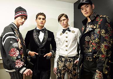 18/19 A/W Men's Catwalk -- Dolce & Gabbana