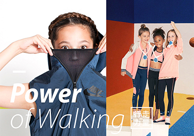 2019 S/S Color Trend for Kidswear -- The Power of Walking