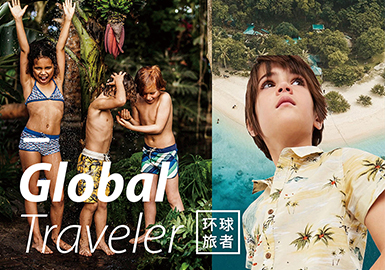 2019 S/S Kidswear Color Trend -- Global Traveler