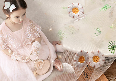 2018 S/S Materials for Girls' Dress -- Lace Fabric