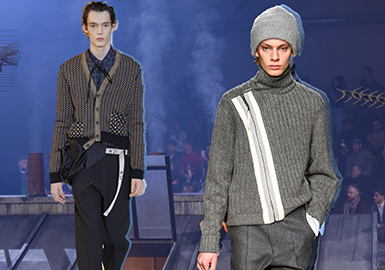 18/19 A/W Men's Sweater Profile -- Business Style