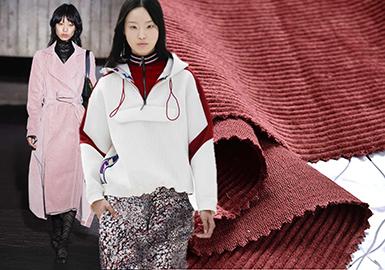 18/19 A/W Women's Corduroy Garments -- Colors