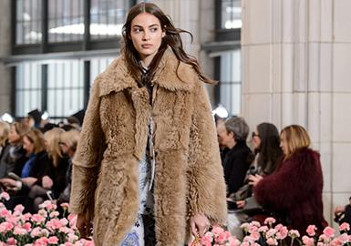 18/19 A/W Women's Fur & Leather on Catwalk -- Silhouette