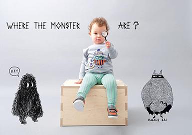 2019 S/S Pattern Trend for Infant Clothing -- Little Monster