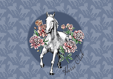 2019 S/S Pattern Trend for Womenswear -- Horse