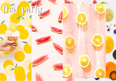 2019 S/S Kidswear Pattern Trend Forecasting -- Fruits