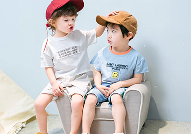 2018 S/S Boys' Top at Zhili Wholesale Market -- Patterns & Hot Items