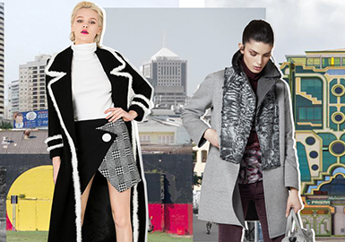 19/20 A/W Craft Trend for Women's Fur -- Splicing