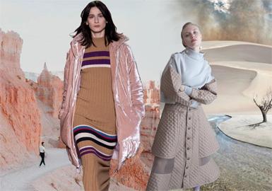 19/20 A/W Womenswear Color -- Earth Color