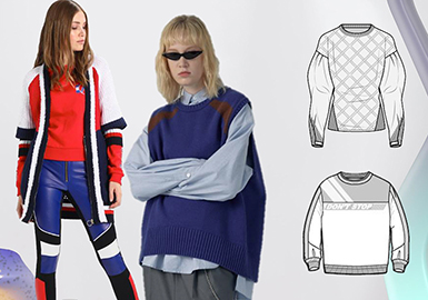 A/W 19/20 Styling for Women's Knitwear -- European Sport
