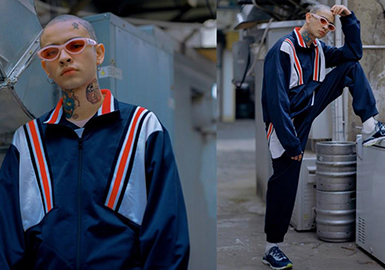 2019 S/S Cutting for Menswear -- Linear Decoration