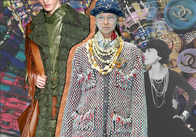 19/20 A/W Fabric Trend Forecast for Coat -- Updated Tweed