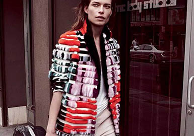 18/19 A/W Fur Garments Designer Brand -- Drome
