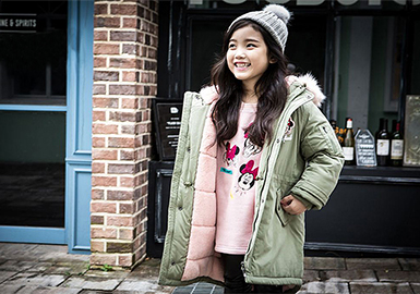 19/20 A/W Kids' key Items -- Padded Jacket & Down Jacket
