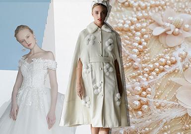 19/20 A/W Women's Wedding Dress -- Decorative Beading