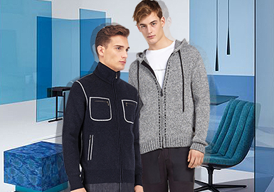 19/20 A/W Details for Menswear -- Knitted Jackets