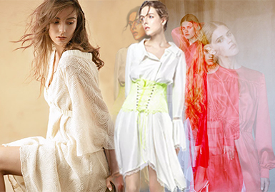 Sophisticated Dress -- 2018 S/S Womenswear in Japanese Market