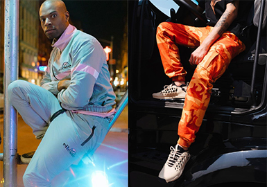 2019 S/S Menswear in Trunk Shows -- Trousers