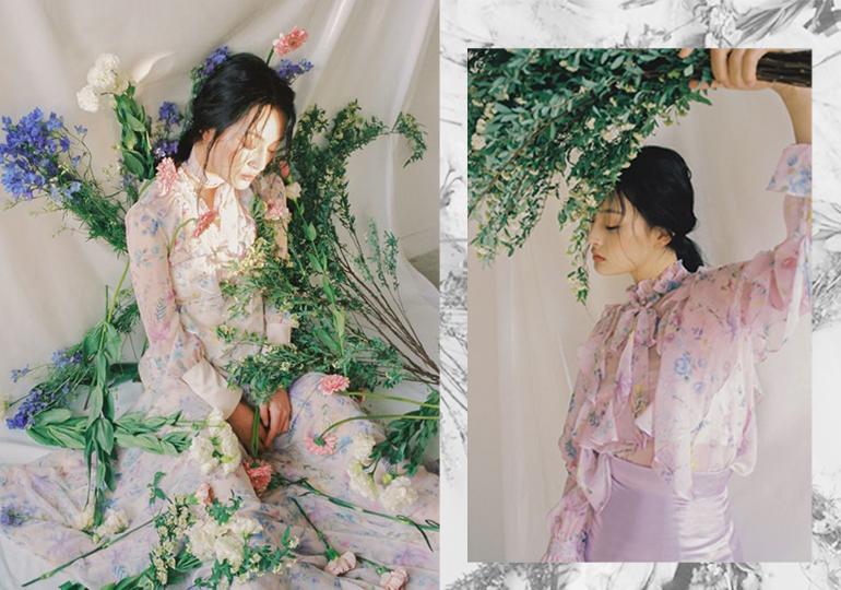 2019 S/S Pattern Trend -- Girl & Flower