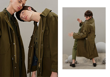 19/20 A/W Silhouette for Menswear -- Functional Windbreaker
