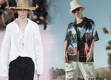 2019 S/S Menswear Catwalk Analysis -- Fashion Shirt