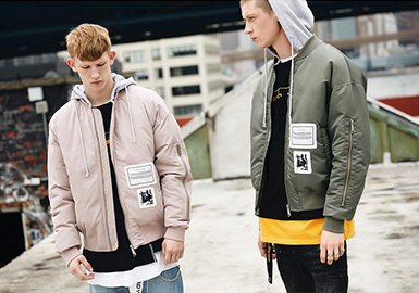 19/20 A/W Silhouette Trend for Menswear -- Bomber Jacket