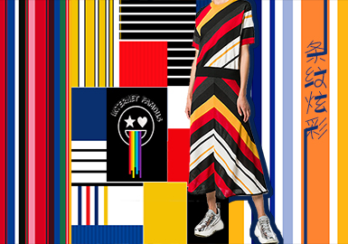 19/20 A/W Pattern for Womenswear -- Colorful Stripes