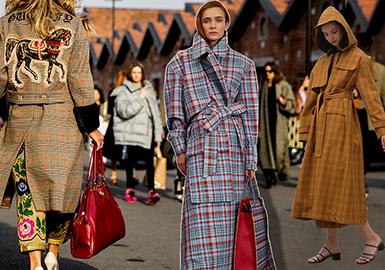 19/20 A/W Women's Coat Trend Forecast -- Distinctive Coat