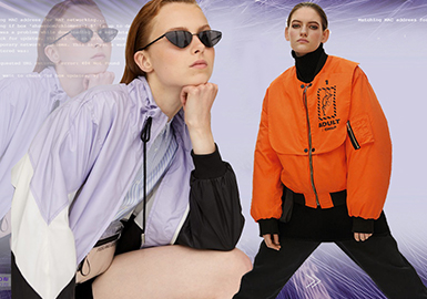 2019 S/S Truck Show Analysis of Womenswear -- Sporty & Functional Jacket